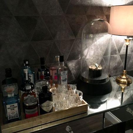 gin tray display