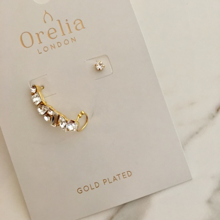 ORELIA CUFF EARRINGS