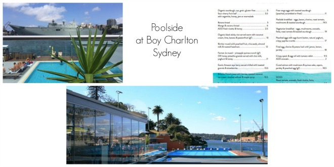 Poolside at Boy Charlton Sydney