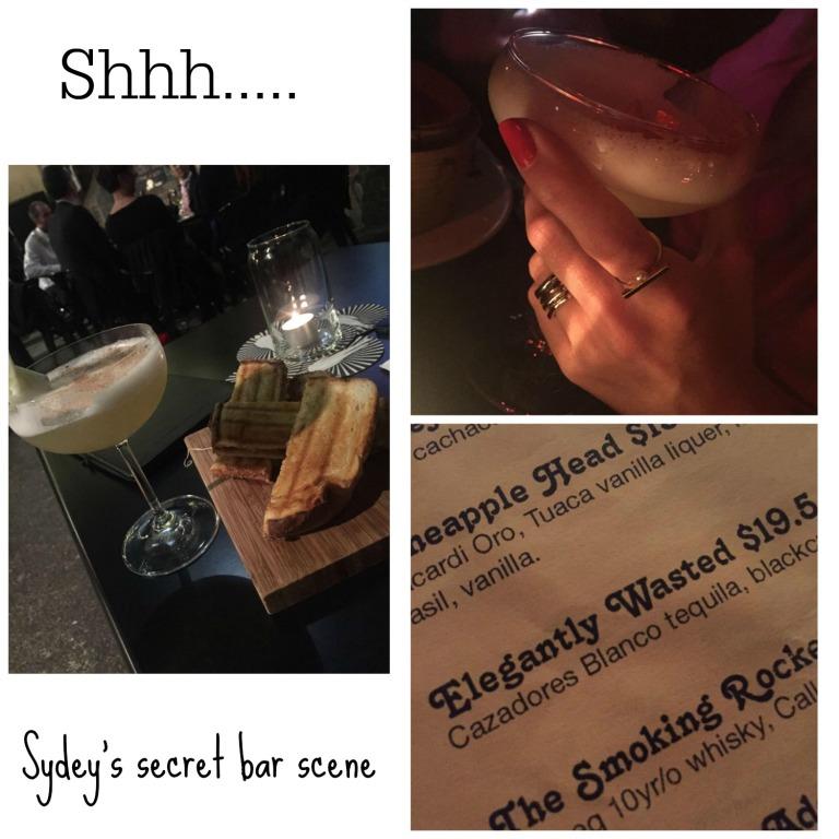Sydney's Secret Bar Scene
