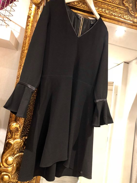 Black Maison Scotch Dress