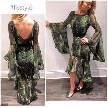 Green Snake Dress 2