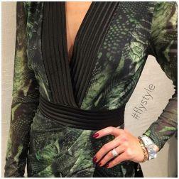Green Snake Dress